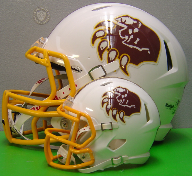 6 pair custom mini football helmet side decals