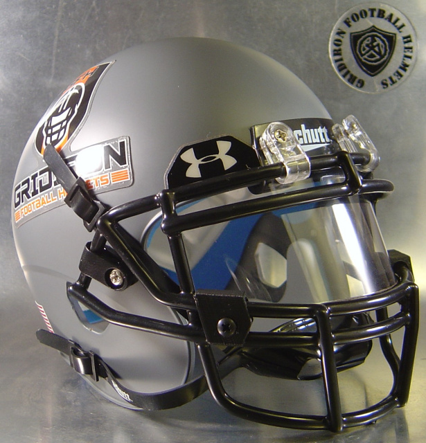 Football Visors For Helmets : Mini authentic visor