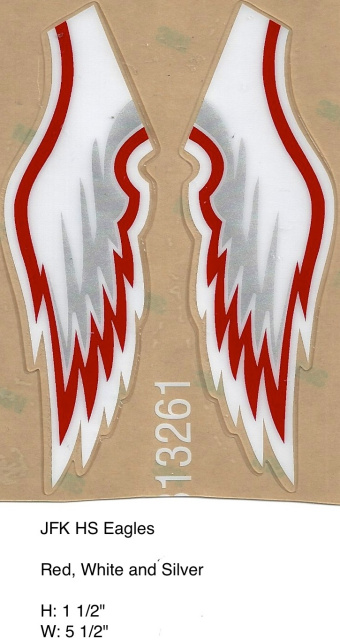 Eagle Wing Decals