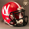 Wisconsin Badgers Scarlet 2012 Riddell Speed Mini