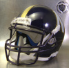 Newnan Cougars HS Throwback Helmet with Gold Strip