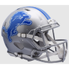 Detroit Lions Speed Football Helmet 2017-2018