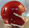 Riddell Speed Blank Mini Football Helmet Shell Cardinal (Like USC Football Helmet Color)