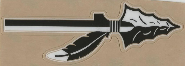 FSU Black White clear Spears  (Happy Valley Warriors HS 2003-2008 (TN) (2 sets left)