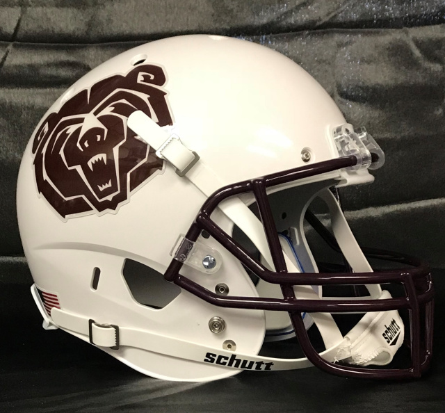 Missouri State Bears Schutt XP Full Size Football Helmet
