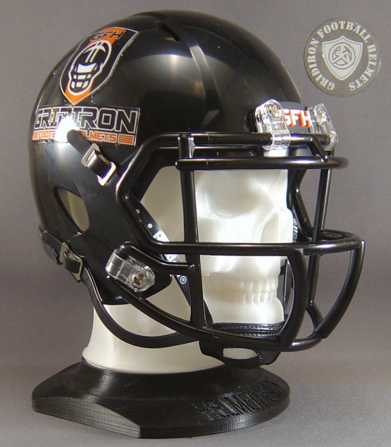 HelmetHeads Skull Display for mini football helmets