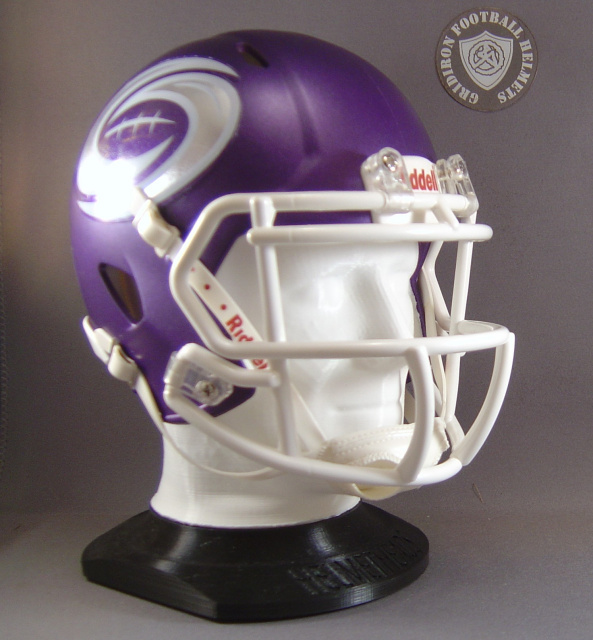HelmetHeads Human Face Mini Helmet Display