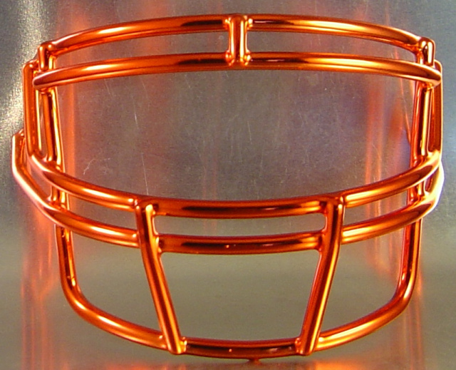Schutt ROPO Chrome Metal Mini Football Helmet Facemask(facemasks clips not included)