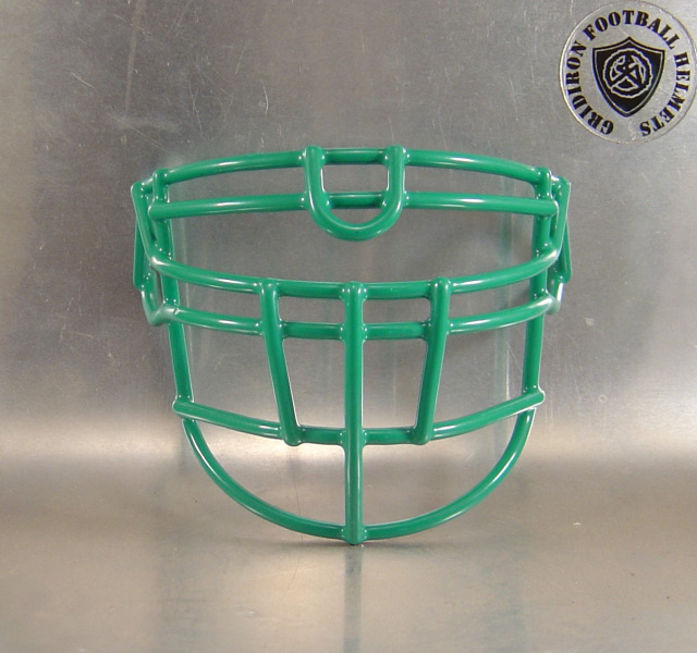 OLDLU Aqua Blue Metal Mini Football Helmet Facemask(facemasks clips not included)