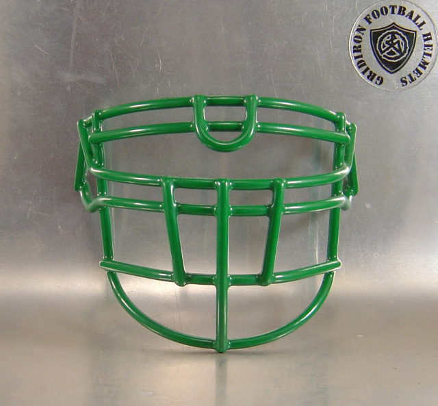 OLDLU Kelly Metal Mini Football Helmet Facemask(facemasks clips not included)