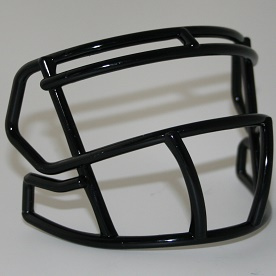 Black mini facemask (facemask clips not included)