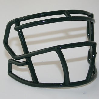 Forest / Dark Green mini facemask (facemask clips not included)