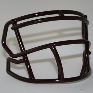Maroon mini facemask (facemask clips not included)