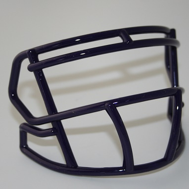 Purple mini facemask (facemask clips not included)