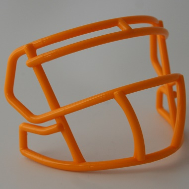 Yellow mini facemask (facemask clips not included)