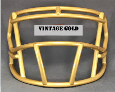 Vintage Gold mini Facemask (Clips not included)
