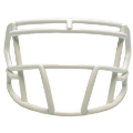 White mini facemask (facemask clips not included)