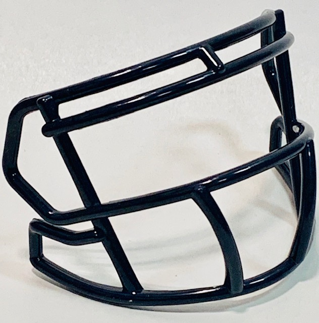 Navy mini facemask (facemask clips not included)
