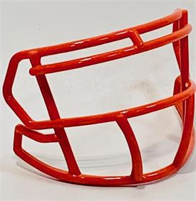 Orange mini facemask (facemask clips not included)
