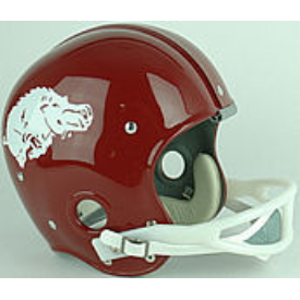 Arkansas Razorbacks 1964 to 1966 Full Size NCAA Throwback Vintage Football Helmet