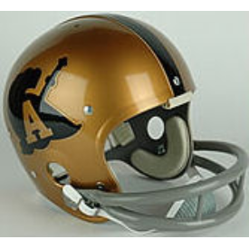 Army Black Knights 1972 to 1973 Full Size NCAA Throwback Vintage Football Helmet