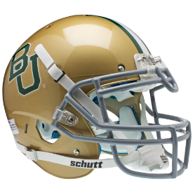 Baylor Bears Authentic Schutt XP Football Helmet Schutt Gold 2012