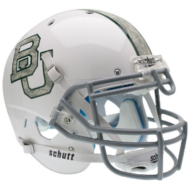 Baylor Bears Authentic Schutt XP Football Helmet Schutt White Camo 2013