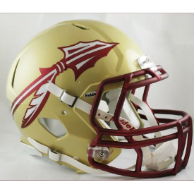Florida State Seminoles Speed Football Helmet 2014 NEW