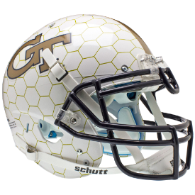 Georgia Tech Yellow Jackets Authentic XP Football Helmet Schutt HoneyComb