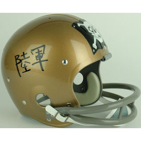 Navy Midshipmen 1962 Roger Staubach Full Size NCAA Throwback Vintage Football Helmet