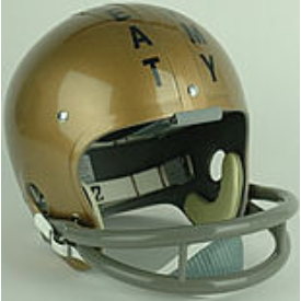 Navy Midshipmen 1963 Beat Army / Roger Staubach Full Size Throwback Vintage Football Helmet