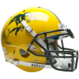 North Dakota State Bison Authentic XP Football Helmet Schutt