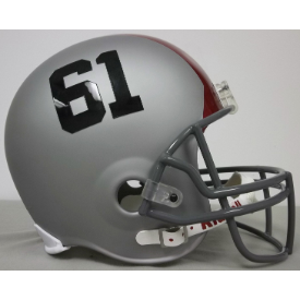 Ohio State Buckeyes 2011 Full Size Replica Football Helmet Silver Red