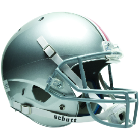 Ohio State Buckeyes Full XP Replica Football Helmet Schutt