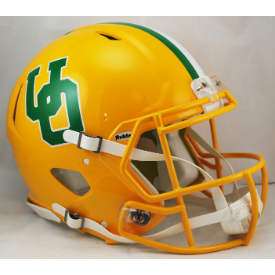 Oregon Ducks Speed Football Helmet Yellow Throwback 2014