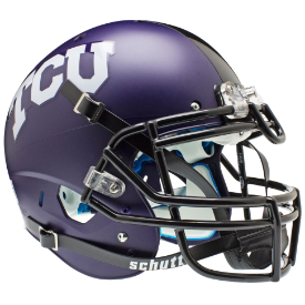 TCU Horned Frogs Authentic College XP Football Helmet Schutt Matte