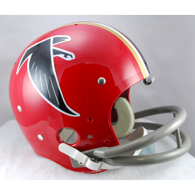 Atlanta Falcons 1966 to 1969 TK Throwback Football Helmet