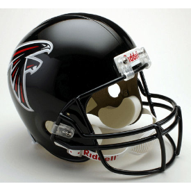 Atlanta Falcons Full Size Replica Football Helmet