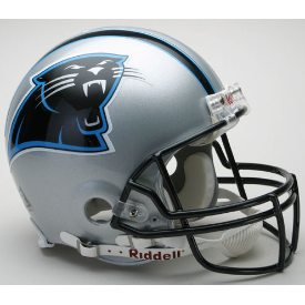 Carolina Panthers 1995 to 2011 Authentic Riddell Football Helmet