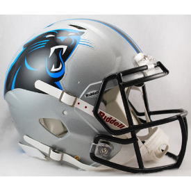 Carolina Panthers Authentic Speed Football Helmet 2012