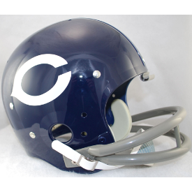 Chicago Bears 1962 to 1973 TK Throwback Football Helmet
