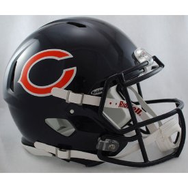 Chicago Bears Authentic Speed Football Helmet