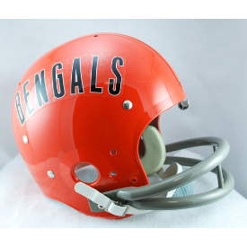 Cincinnati Bengals 1968 to 1979 TK Throwback Football Helmet
