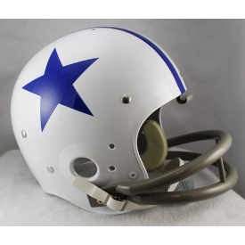 Dallas Cowboys 1960 to 1963 TK Throwback Football Helmet