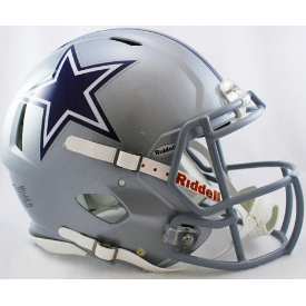 Dallas Cowboys Authentic Speed Football Helmet