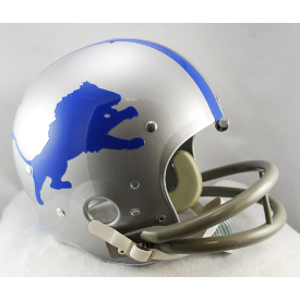 Detroit Lions 1962 to 1968 TK Throwback Football Helmet