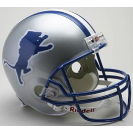 Detroit Lions 1983 to 2002 Full Size Replica Throwback Helmet