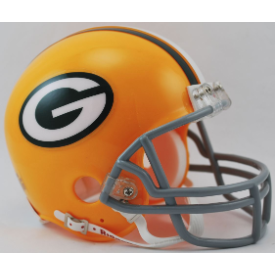 Green Bay Packers 1961 to 1979 Authentic Throwback Helmet