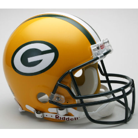 Green Bay Packers Authentic Football Helmet