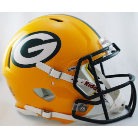 Green Bay Packers Authentic Speed Football Helmet